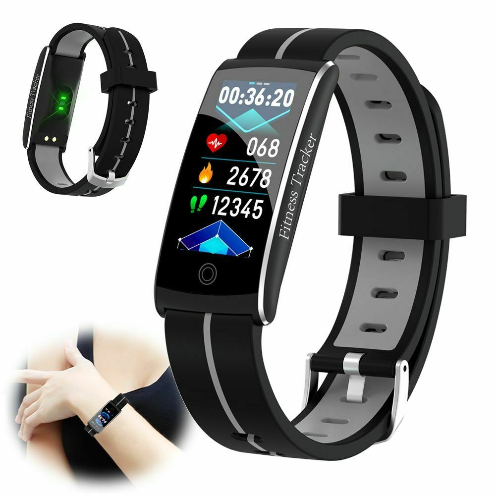 Blood Pressure HR Monitor Bracelet Fitness Tracker Watch for Android iPhone 11 android blood bracelet Featured fitness for iphone monitor pressure tracker watch