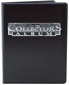 Album 9 tasche Ultra Pro Magic Collectors Black Nero Raccoglitore Portfolio MTG