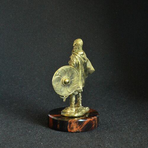 Art Déco Bronze Viking Mer Baltique Scandinaves Warrior Sculpture Statuette