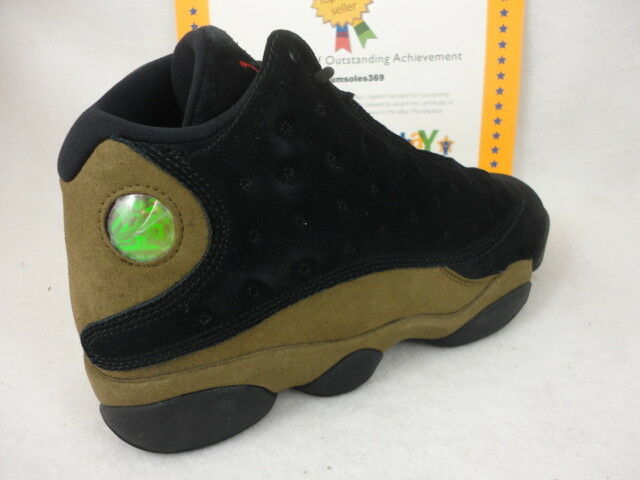 acf25d3553 Air Jordan 13 XIII Retro 414571-006 Black Red Olive DS Size 12 for ...