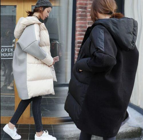 lana donna imbottito misto Parka Fashion D620 con misto cotone Cappotto cappuccio PIAqUgw