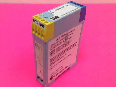 MTL 3042 DC Isolator 4//20mA Transmitters /& I//Ps
