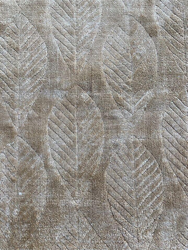 Gulvtæppe, Viskose og bomuld, b: 170 l: 240