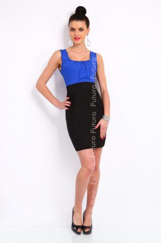 Women/'s Classic Mini Dress Bodycon Sleeveless Scoop Neck Sizes 8-18 8427