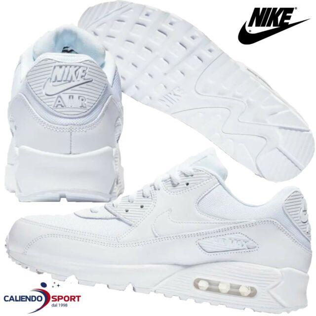 Nike Air Max 90 Essential Scarpe da ginnastica Uomo Bianco