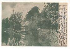 Boat Club in TAUNTON MA Vintage 1905 Massachusetts Postcard 2