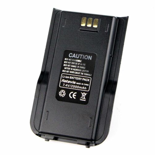 10xOriginal 2000mAh Li-ion Battery Pack for TYT MD-380 RetevisRT3S RT3 Radio US