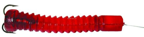 "NEW 6 Packs Doc/'s Super Catfish Worm Red 2 Per pack 2 1//2/"" 21250"