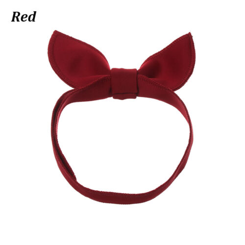Space Cotton Red Hair Accessories Head Wraps Baby Girl Headband Bow Hairband