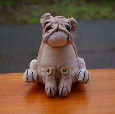 Dora Designs Brutus The Bulldog Doorstop Paperweight Plush Toy Puppy Dog