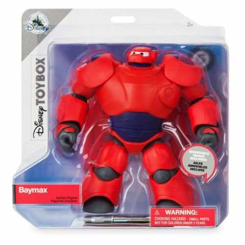 New Toybox Big Hero 6 Poseable Armored Baymax Action Figure