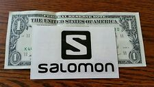 Black Salomon Sticker  DEVRU Seals