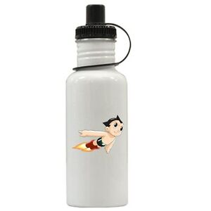 Personalized Astro Boy Water Bottle Gift Add Name