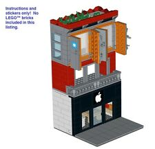 Custom Instructions 4 LEGO Apple Store Maersk Apartment Modular Architecture