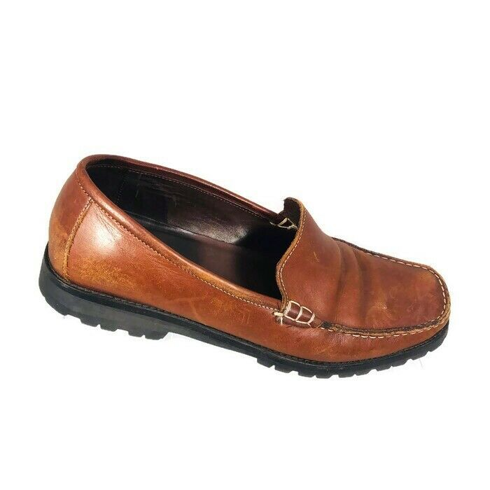 Cole Haan Womens Loafers Size 8 Brown Leather Slip On shoes