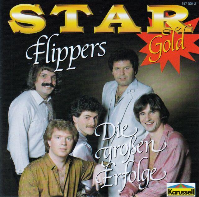 DIE FLIPPERS : STAR GOLD - DIE GROSSEN ERFOLGE / CD - TOP-ZUSTAND