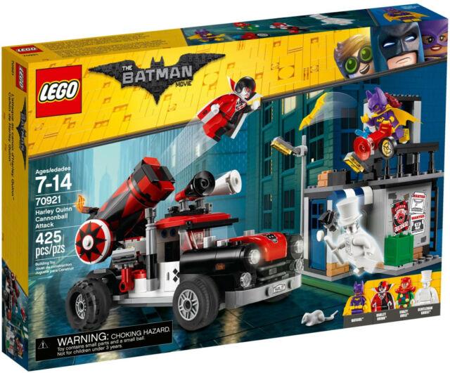 LEGO 70921 The Batman Movie Harley Quinn Cannonball Attack MISB