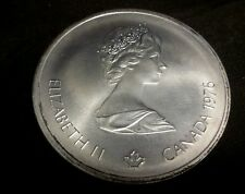 1976 $10 Stadium Montreal Olympics Commemorative 1.45 ASW, Sterling Silver