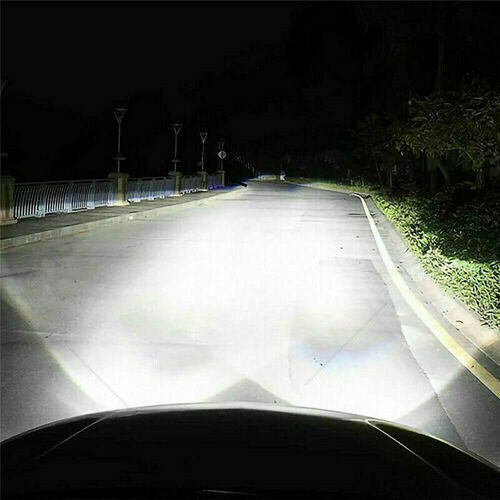 4X Super White 55W Main//Dip//LED Side Light Bulb 6000K C6 For Vauxhall Vivaro