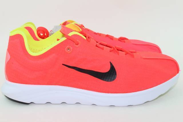 NIKE MAYFLY LITE hommes SIZE 10.5 BRIGHT CRIMSON NEW LIGHT WEIGHT COMFORTABLE RARE