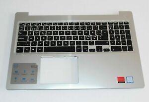 Dell Inspiron 15 5000 Silver Palmrest & Keyboard 0M1FJK 0MR2KH 0066PD -NORDIC-