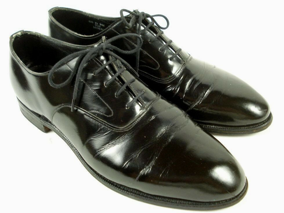 Brooks Brooks Brooks Brothers  The Curzon  Patent Leather Dress schuhe sz UK 10 D US 10.5 3fae50
