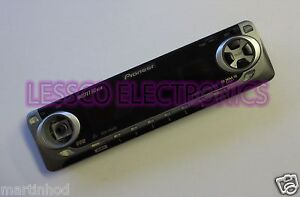 Missing-Volume-Button-PIONEER-DEH-P4400-Replacement-Car-Stereo-Face-Plate