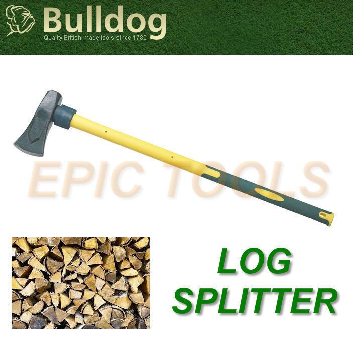 Nuevo Bulldog 2,7kg Fibra Vidrio Madera Log Mano Separador Divisor