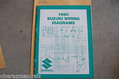 1980 SUZUKI Motorcycle & ATV Wiring Diagrams Manual   eBay