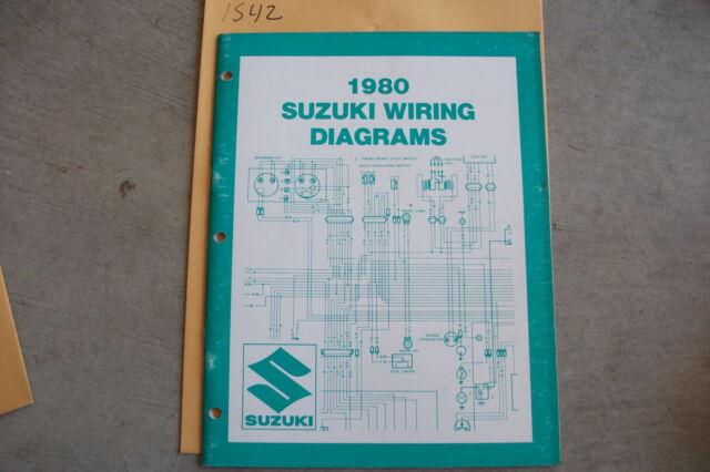 1980 Suzuki Motorcycle  U0026 Atv Wiring Diagrams Manual