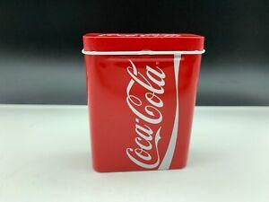 Coca-Cola-Tin-Can-Cigarette-Box-3-11-16in-Top-Condition