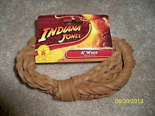 CHILD INDIANA JONES 4 FT SOFT BULL WHIP COSTUME RU8184