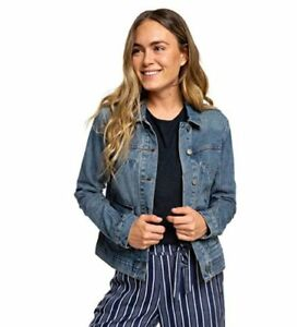 Denim hollandsk Oceanic Roxy Jacket Wmns blå Tides pOaOnx