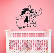 Lilo and Stitch Wall Decal Vinyl Sticker Disney Cartoon Art Nursery Decor lis4