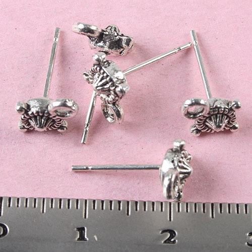 20pcs Tibetan silver Earring Post h1045