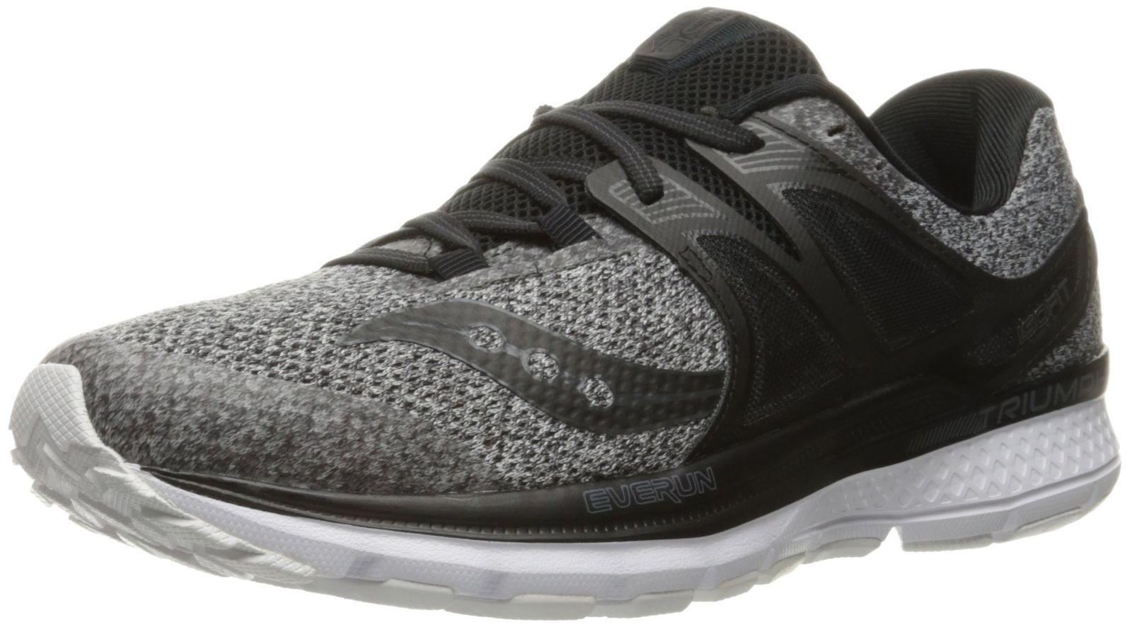 Saucony US Men's Triumph Iso 3 LR Running Shoe, Gray/Black US Saucony Size 11M 4e8d85
