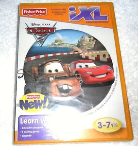 Fisher-Price-iXL-Learning-System-Software-Disney-Pixar-Cars-3-7-Yrs