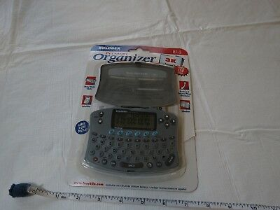 Rolodex personal organizer RF-3 RARE opened personal phone directories scheduler