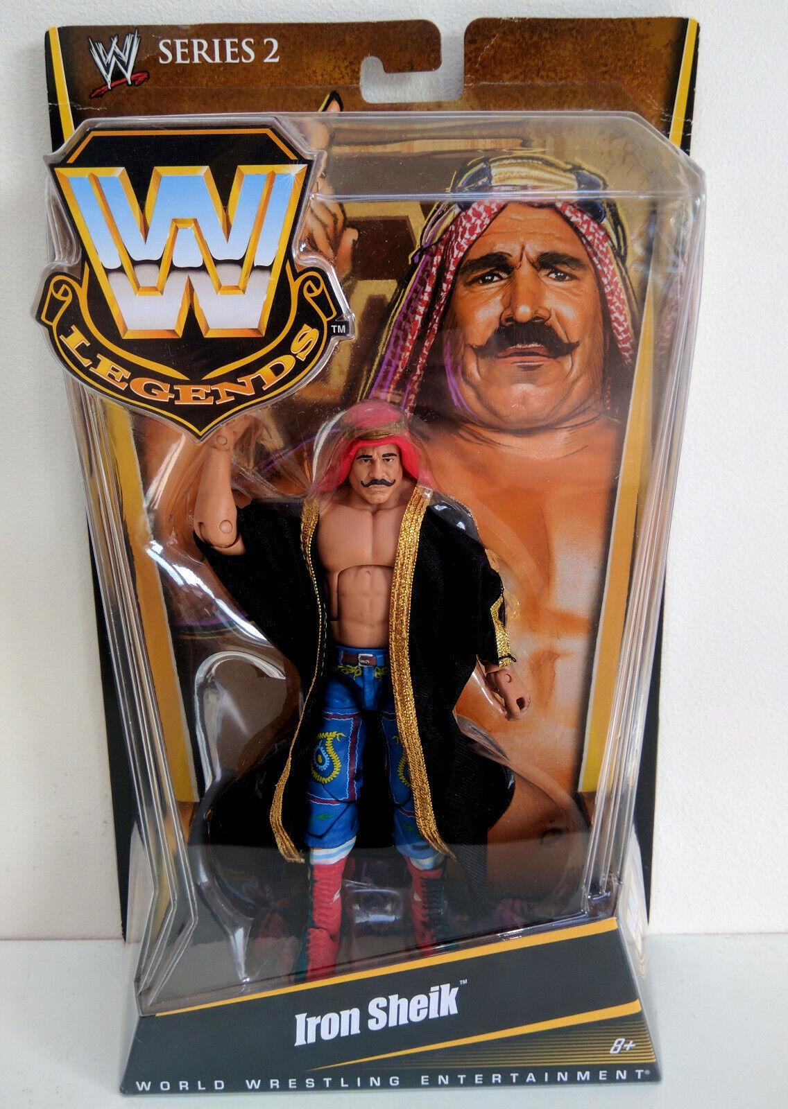 WWE Mattel Elite Elite Elite Legends Series 2 Iron Sheik Flashback MOC b35