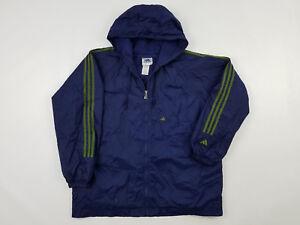 319258dddf1a Adidas Windbreaker Jacket Men s XL Vintage 90s Big Logo Nylon Track ...