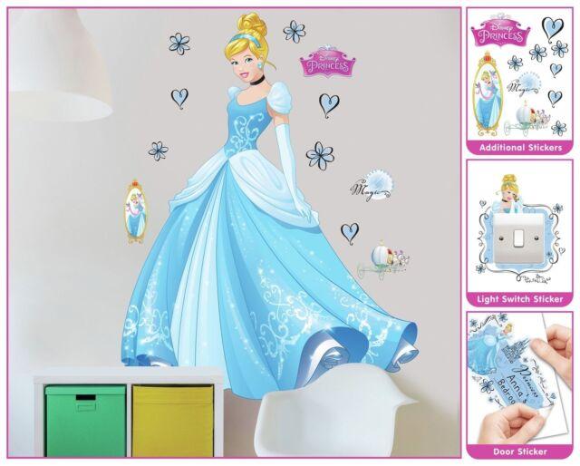 Disney Princess Walltastic Wall Stickers for Kids bedrooms