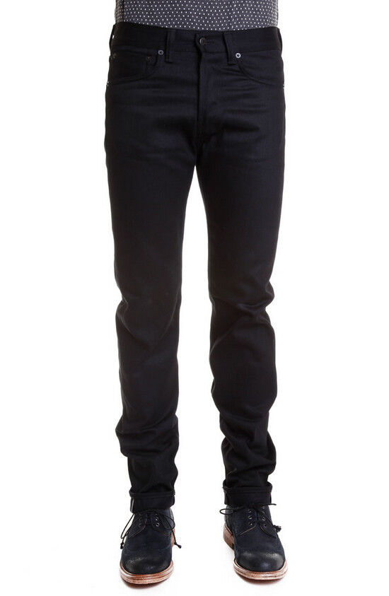 JEANS EDWIN HOMME ED 80 SLIM TAPErouge (blanc listed-noir)    W36 L32  VAL