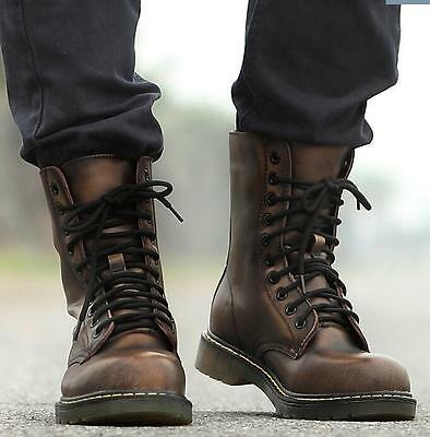 Mens Tactical Tactical Military Army Combat Desert Lace Up Ankle Boots Shoes Sz