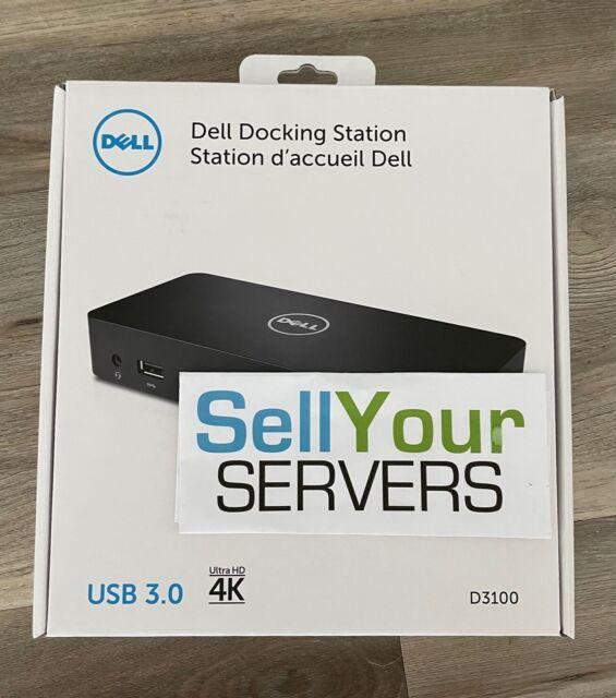 NEW Dell D3100 USB 3.0 Docking Station Ultra 4K 452-BBPG MGJN9 36M9K V4NXC KRJJD