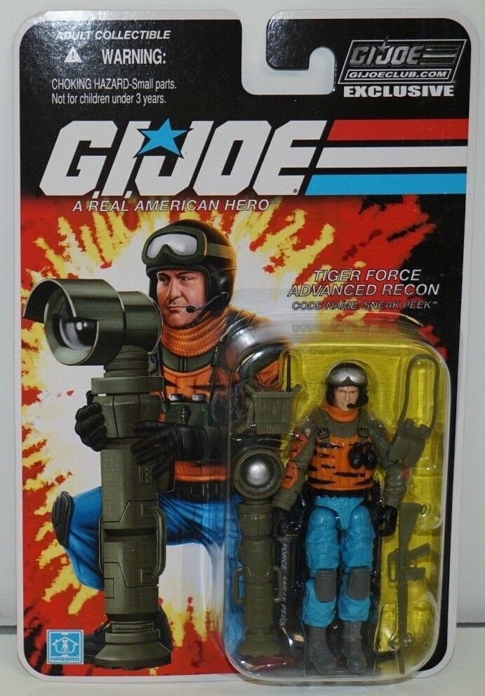 GI JOE COBRA COLLECTORS CLUB EXCLUSIVE FSS 4-11 TIGER FORCE SNEAK PEEK MOC