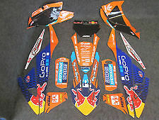 KTM SX/SXF 125-450 2016-2017 Team TLD USA graphics + plastic kit GR1018