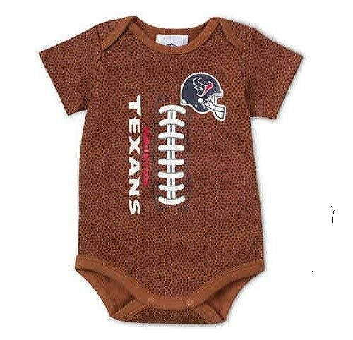 Gerber NFL Houston Texans Baby Boys Football Print Bodysuit 0-3 Months  43226a407