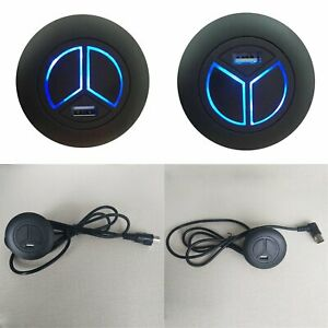Electric-Recliner-Sofa-Lift-Chair-2-Button-Switch-Remote-Control-USB-Charger-LED