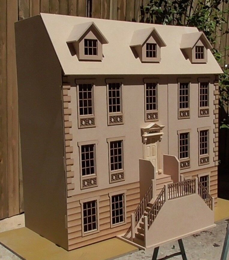 Dolls Dolls Dolls House 1/12th The Templeton Manor KIT Deluxe or Standard 3ft wide 0903b1