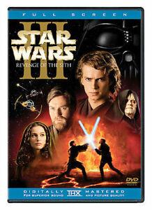 Star Wars Episode Iii Revenge Of The Sith Dvd Ln Disc Cover Art No Case 24543212768 Ebay